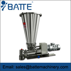 Single screw gravimetric feeder