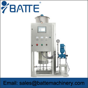 Liquid gravimetric feeder