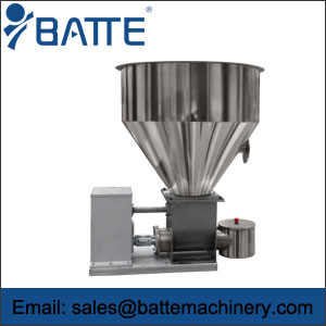Twin-screw volumetric feeder
