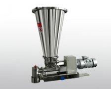 Continuous gravimetric feeder processing