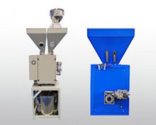 Micro single screw weightless feeding machine